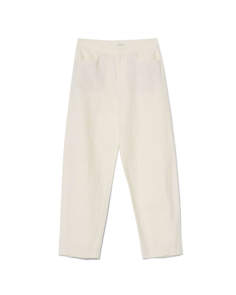Totême Novara trousers - Creme