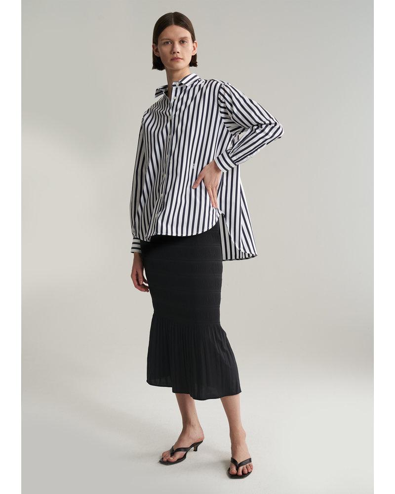 Totême Capri shirt - Navy stripe