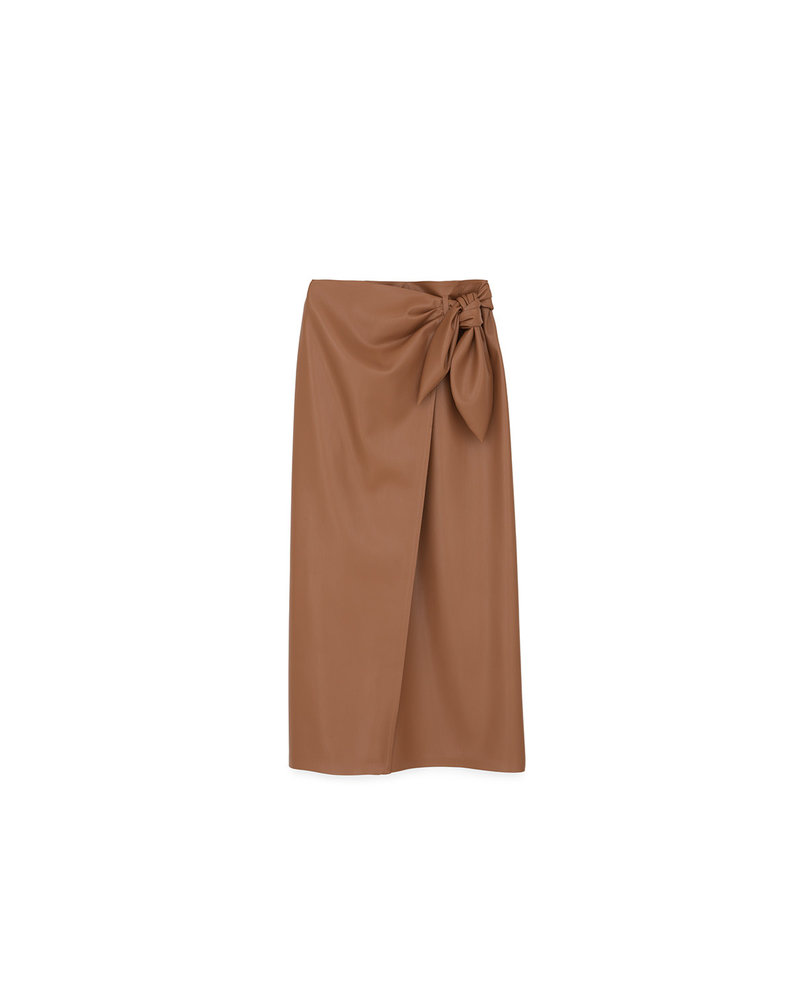 Nanushka AMAS skirt - Brown