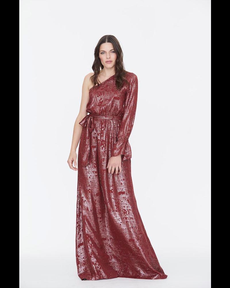 Julie Fagerholt Hira dress - Wine