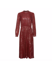 Julie Fagerholt Hemsley dress - Wine
