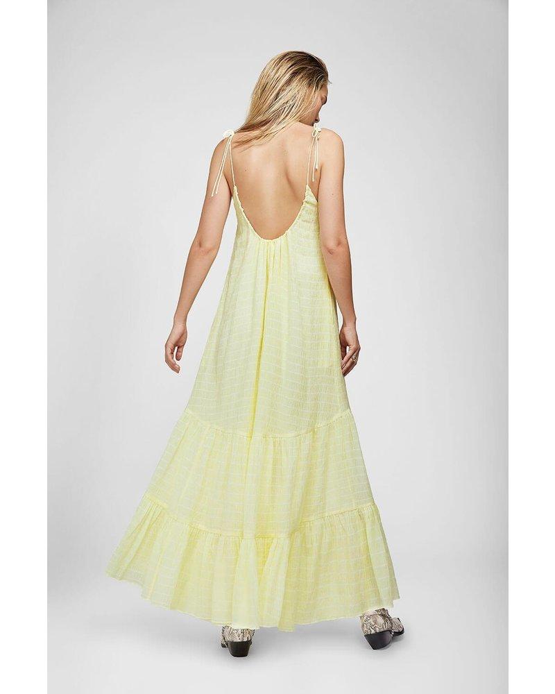 Anine Bing Scarlett dress - Limoncello