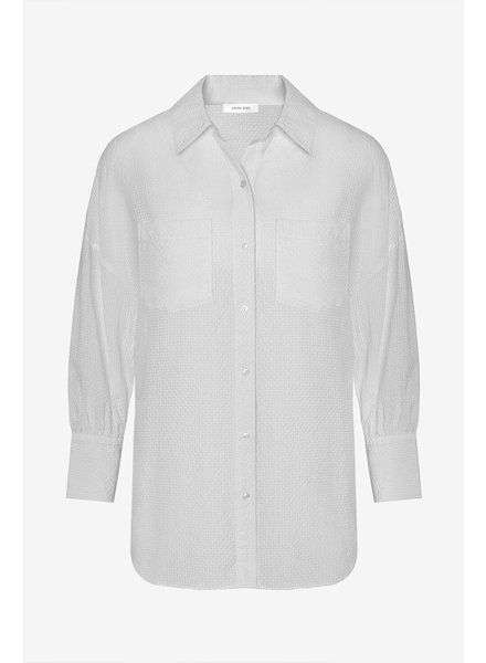 Anine Bing Monica Blouse - White