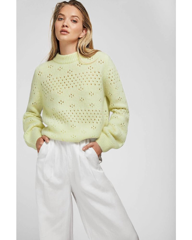 Anine Bing Candice Sweater - Limoncello