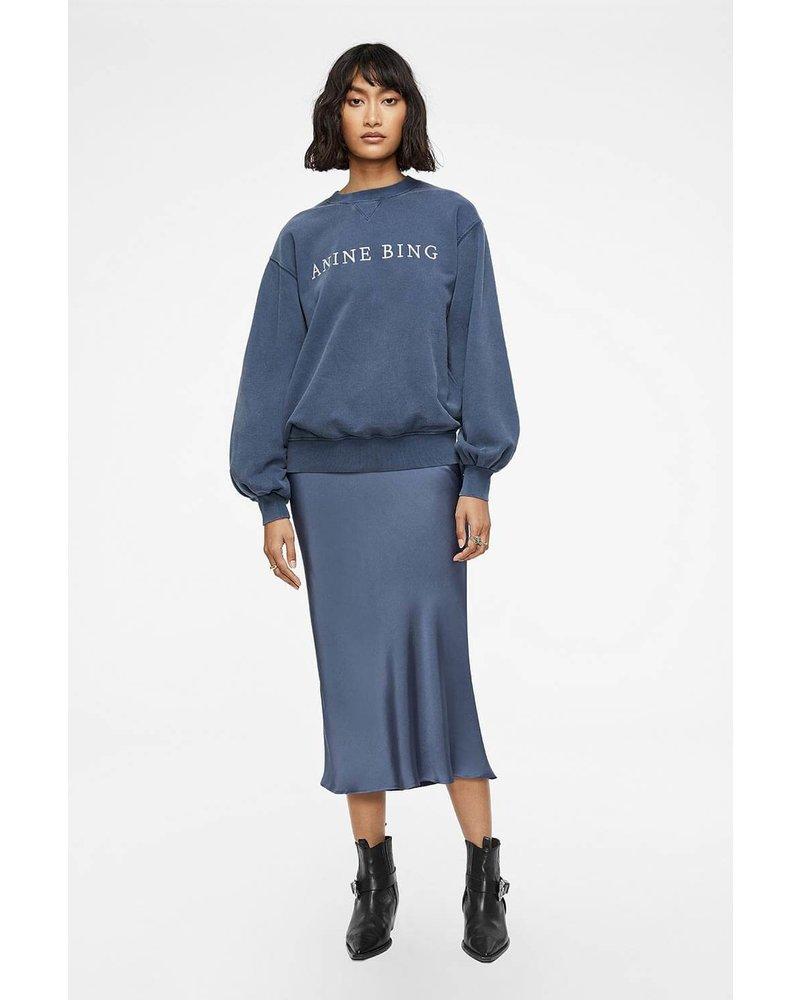 Anine Bing Esme Sweatshirt - Blue