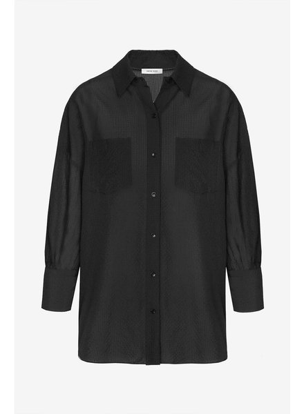 Anine Bing Monica Blouse - Black