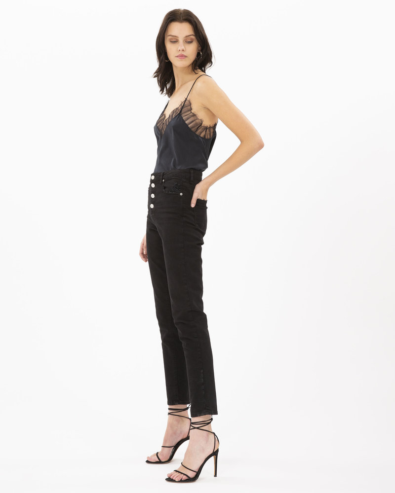 Iro Berwyn top - Black