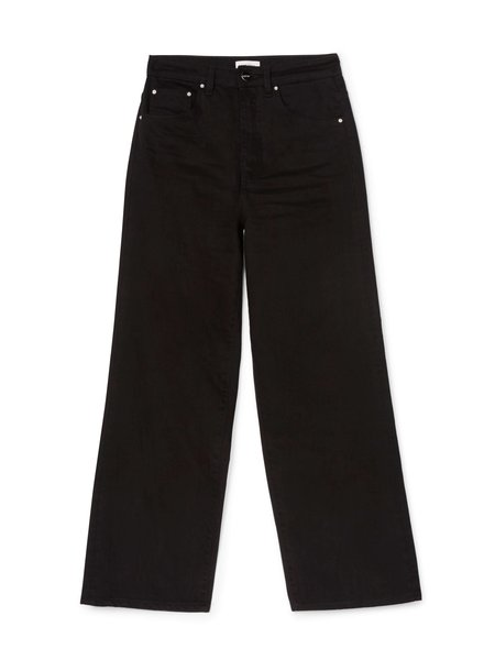 Totême Flair denim - Black Rinse