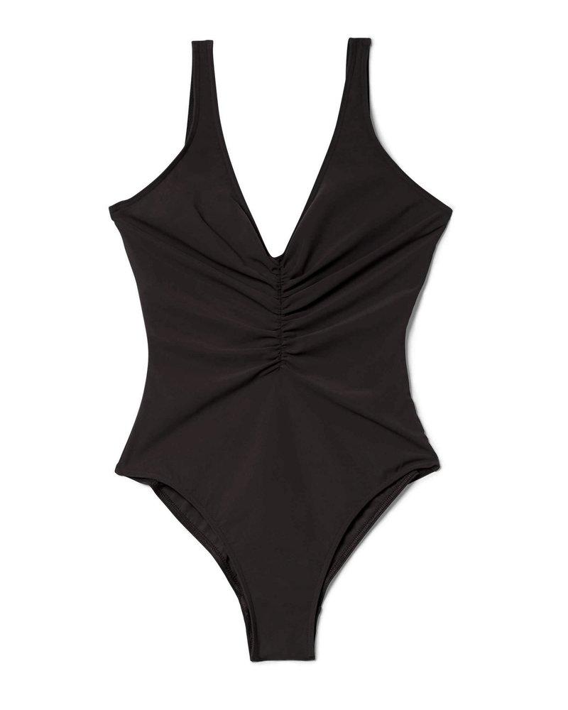 Totême Sondrio swimsuit - Black