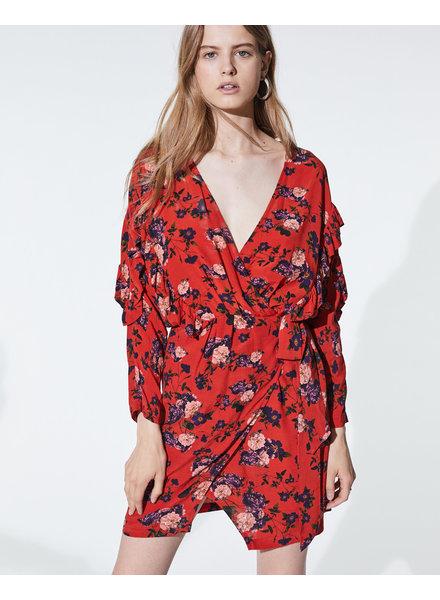 Iro Nucha dress - Red
