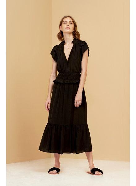 Magali Pascal Sicily Maxi dress - Black
