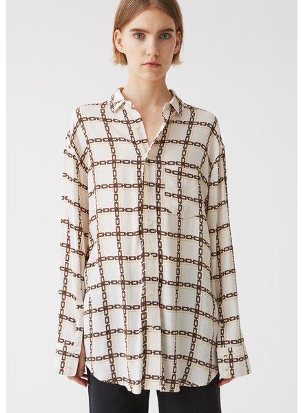 Hope Mash shirt - Chain White - size 42