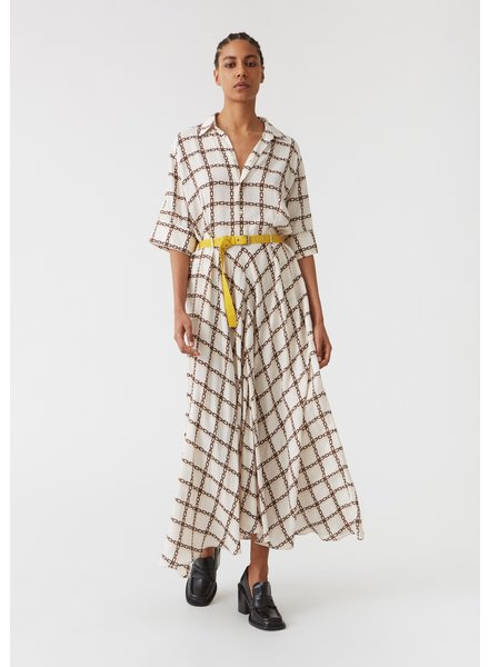 Hope Grade dress - Chain White