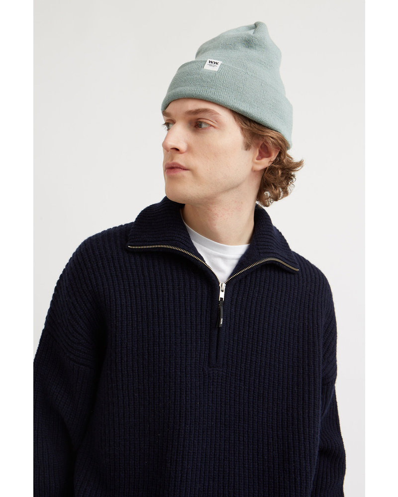 Wood Wood Otto sweater - Navy