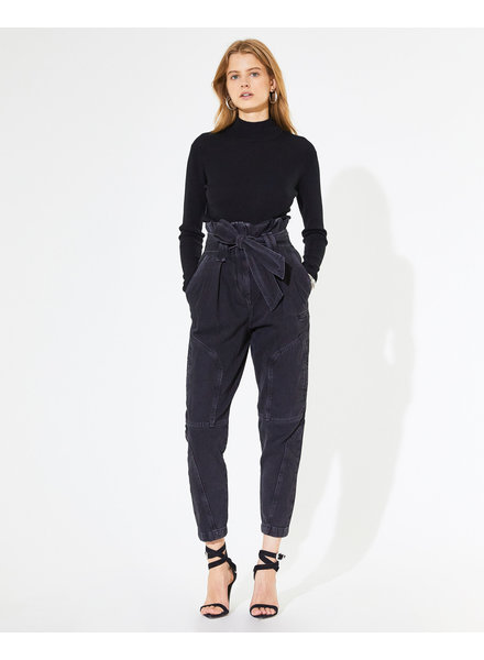 Iro Harry pant - Black denim