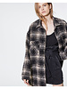 Iro Mirk shirt - Black/Ecru