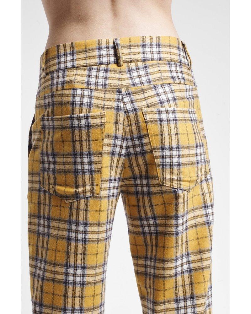 Margaux Lonnberg Jarvis pantalon - Orange Check