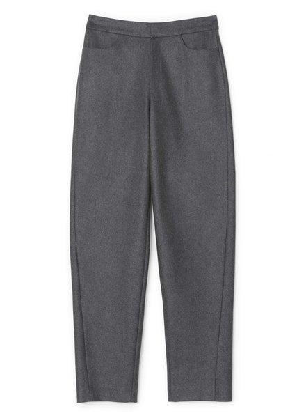 Totême Novara trousers - Dark Grey Mel - size XXS