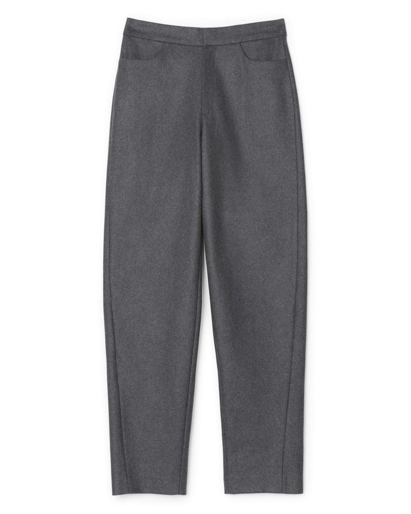 Totême Novara trousers - Dark Grey Mel - XXS