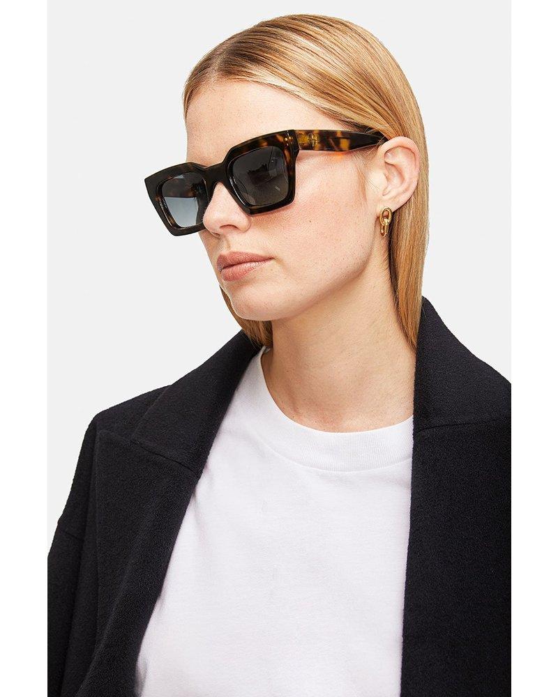 Anine Bing Indio sunglasses - Dark Tortoise