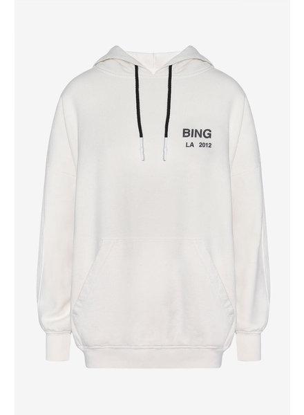 Anine Bing Lottie hoodie - White