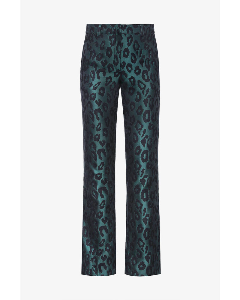 Anine Bing Cindy trousers - Emerald Leo