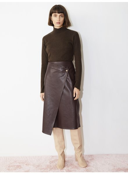 Aeron Nola skirt - Deep Wine