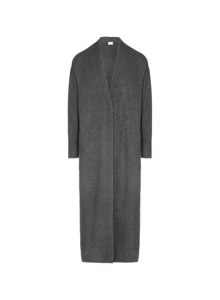 CT Plage Vneck Raccoon blend cardigan - C. Grey - size 42