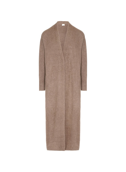 CT Plage Vneck Raccoon blend cardigan - Beige - size 38