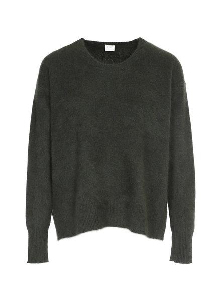 CT Plage Round raccoon pullover - Khaki