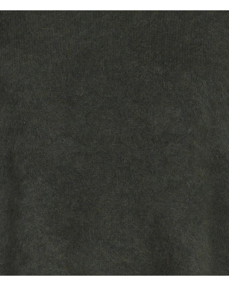 CT Plage Raccoon cardigan - Khaki