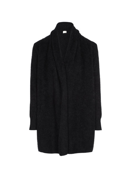 CT Plage Raccoon cardigan - Black