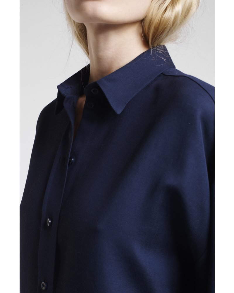 Margaux Lonnberg Chase shirt - Navy