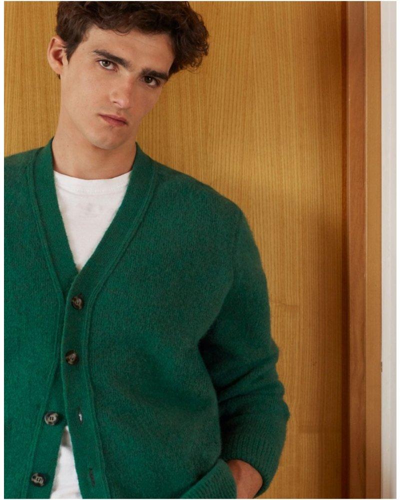 Edition M.R. Michel Cardigan - Green