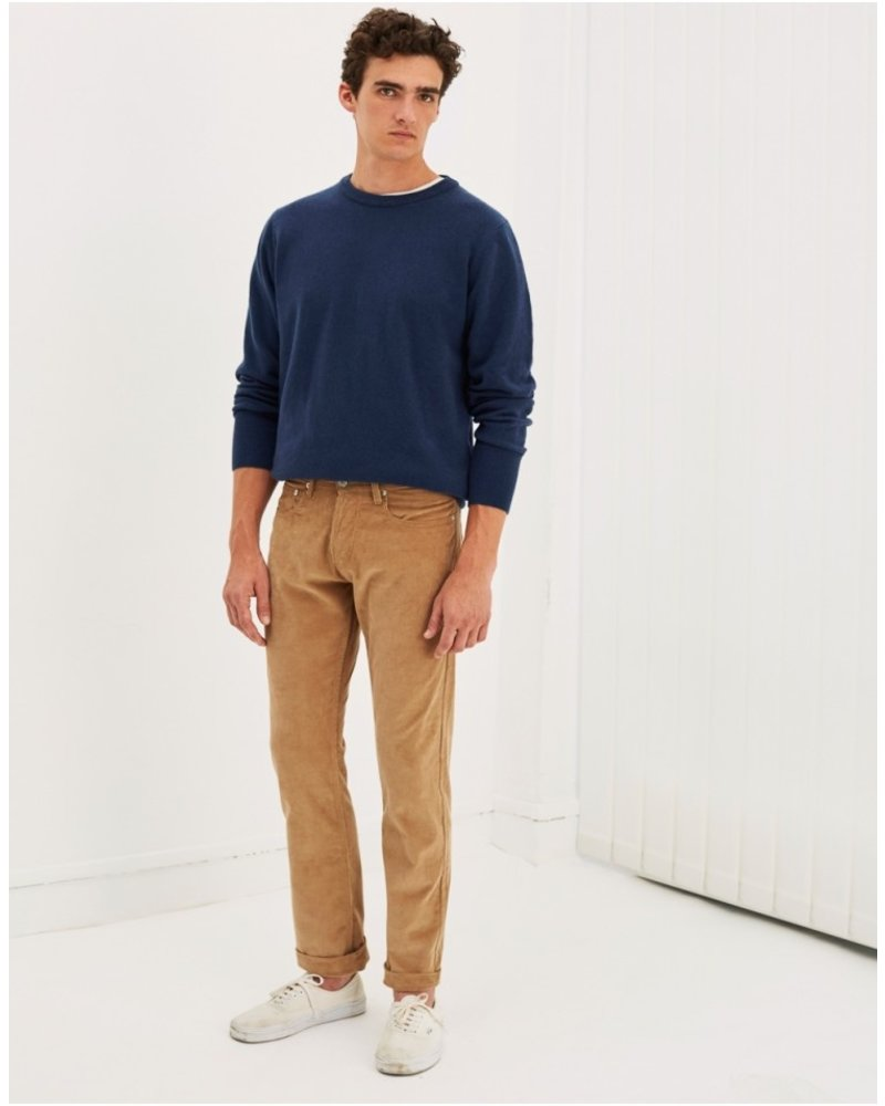 Edition M.R. Max 5 Pockets Velvet Pants - Beige