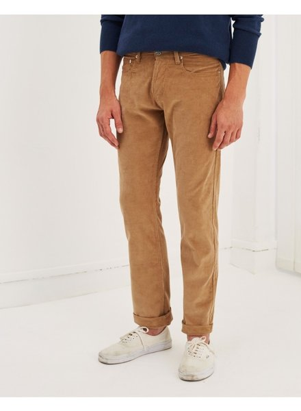 Edition M.R. Max 5 Pockets Velvet Pants - Beige