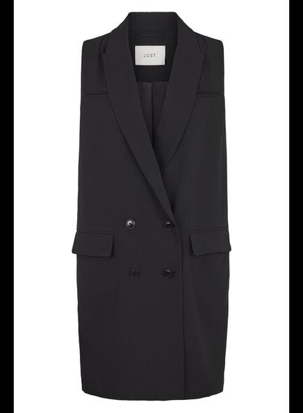 Just Female Benita waistcoat - Black