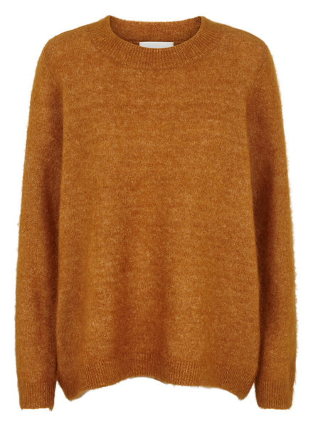 Just Female Code knit - Pumpkin spice
