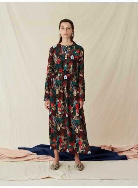 Libertine Libertine Local dress - Olive Jungle