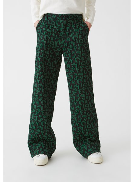 Hope Ease Trousers - Green Letter