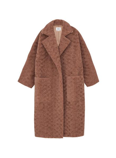 Nanushka Imogen coat - Faded Rose
