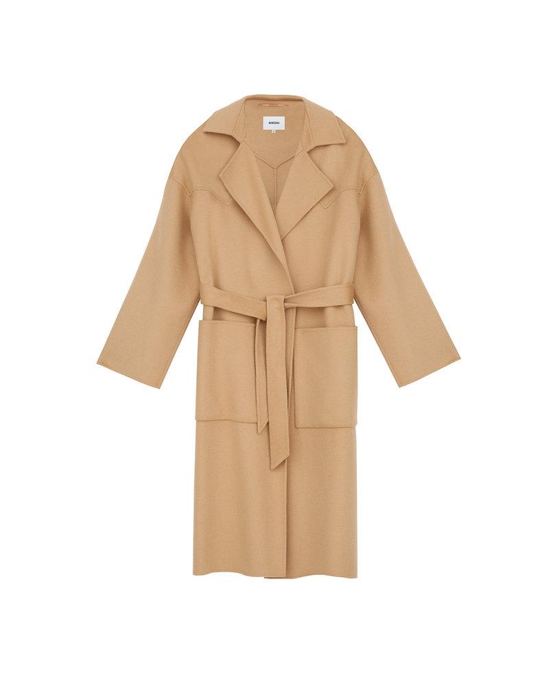 Nanushka Alamo coat - Cashew