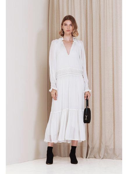 Magali Pascal Greta Maxi dress - Dusty White