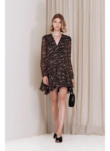 Magali Pascal Chloe dress - Paisley Black