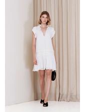 Magali Pascal Bovary Mini Dress - Dusty White