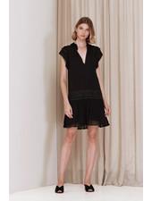 Magali Pascal Bovary Mini Dress - Black
