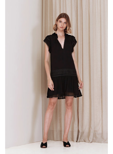 Magali Pascal Bovary Mini Dress - Black