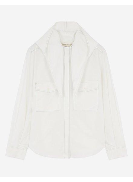 Maison Kitsuné Lavalliere shirt - Off White