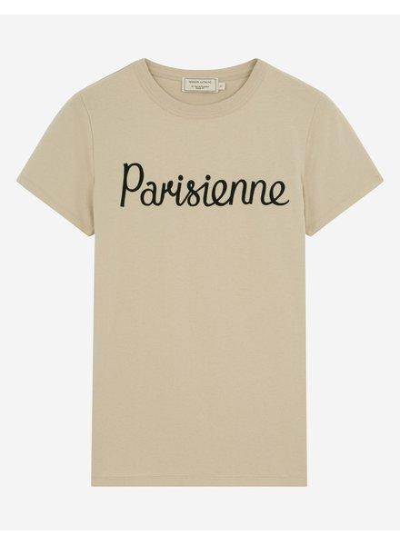 Maison Kitsuné T-shirt Parisienne - Beige