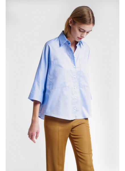 Margaux Lonnberg Andrea top - Blue